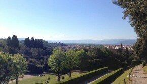 Le jardin Boboli, derrière le Palais Pitti, Florence