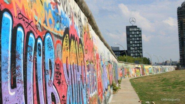 Le mur de Berlin, East gallery