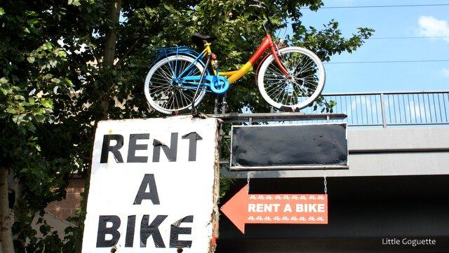 Les loueurs de vélos sont partout