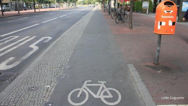 Une ville faite pour les cyclistes