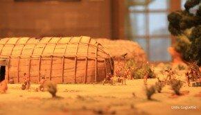 Maquette de village Iroquois