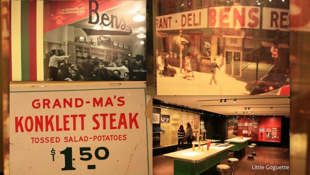 Expo sur le légendaire deli Ben's