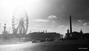 La grande roue de Noël place de la Concorde à Paris