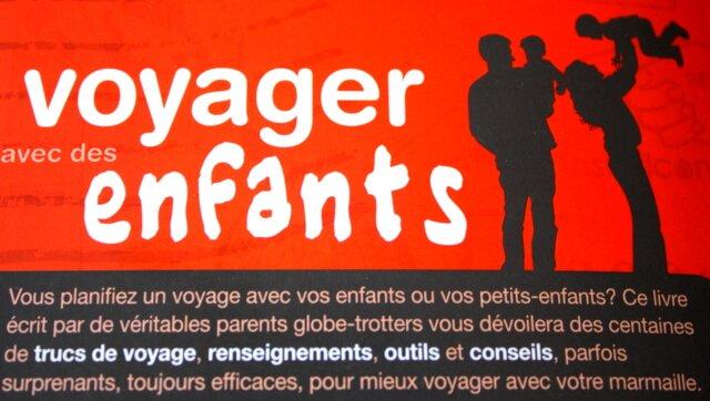 """Guide """"Voyager avec des enfants"""" aux éditions Ulysse"""