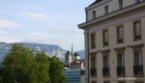 Genève depuis le Bristol
