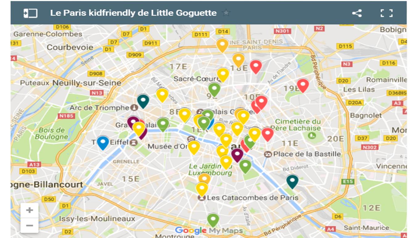 Kid Friendly Restaurants Paris