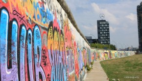 Le mur de Berlin, East gallery