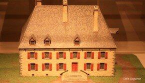 Maquette du Château Ramezay